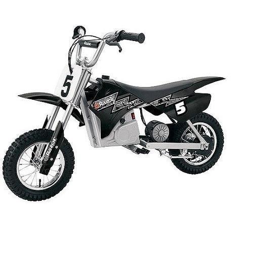 Amazon.com : Razor MX350 Dirt Rocket Electric Motocross Black ...