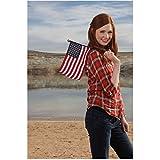 #10: Karen Gillan as Amy Pond TV Promo for Dr. Who Americana theme 8 x 10 Inch Photo