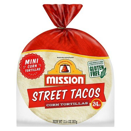 Mission Street Tacos mini Corn Tortillas 12.6oz