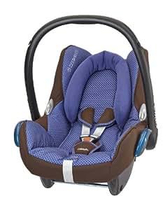 Maxi-Cosi CabrioFix - Silla de coche grupo 0+, desde 0 hasta 13 kg, color marrón/azul