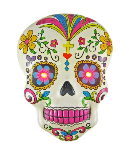 Amazoncom Fantasy Gifts White Day Of The Dead Sugar Skull Wall