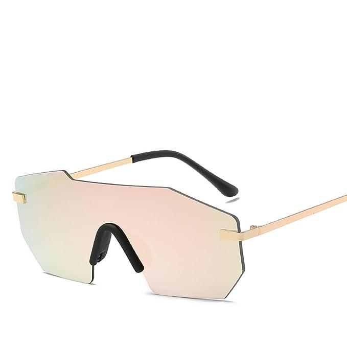 Amazon.com: URYY - Gafas de sol unidas de una pieza, lentes ...