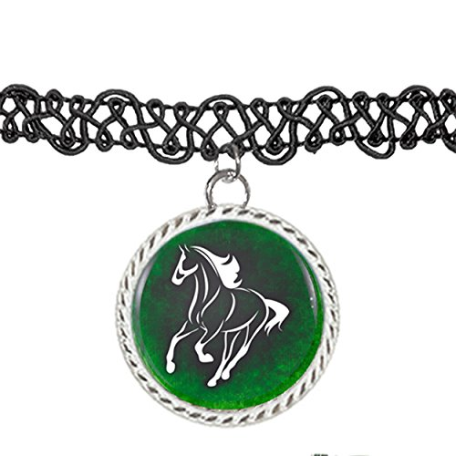Horse Charm Necklace - 5