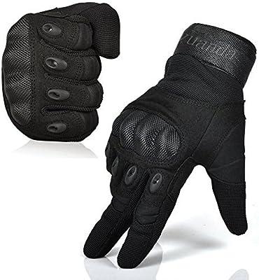 Tactical Full Finger Armoured Gloves Shooting Motocross GLOVES