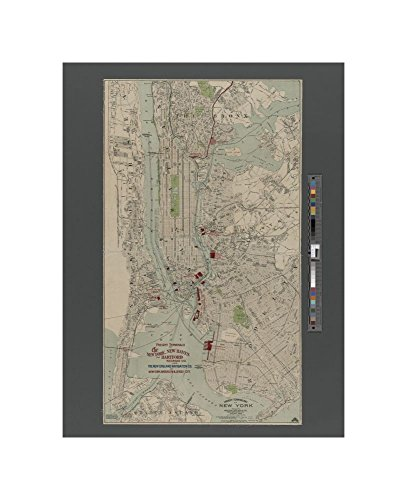 1907 map of Boston Freight terminal map of New York Geo. H. Walker & Co. - Terminal Boston Map