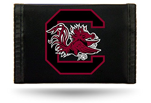 (Rico Industries NCAA South Carolina Gamecocks Nylon Trifold Wallet)
