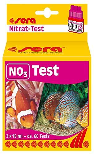 Sera Nitrate-Test (No3) 15 Ml, 0.5 fl.oz Aquarium Test Kits (Saltwater Kit Test Nitrate)