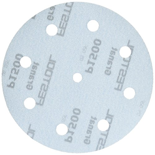 Festool 497182 Granat P1500 Grit Abrasives for Ets 125/Ro 125 Sanders, 50-Pack for sale