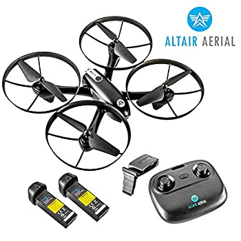 Image of Altair Falcon AHP - Drone with Camera for Beginners, Live Video 720p, 2 Batteries & Autonomous Hover & Positioning System Easy to Fly, FPV, Custom Routes, Lincoln, NE Company. Quadcopters & Multirotors