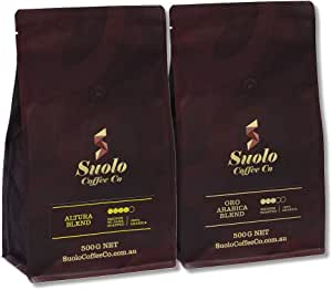 Freshly Roasted Coffee Beans - Oro Arabica and Altura Blend - Suolo Coffee Co - 100% Arabica - 2 X 500 GMS