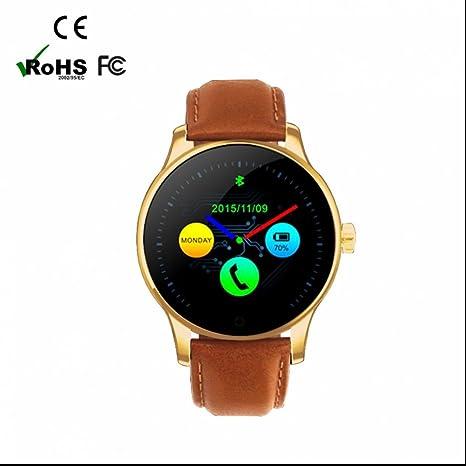 Reloj Inteligente Bluetooth smartwatch Deporte Muñeca,Fitness Tracker,Aire Libre,Monitores de Actividad