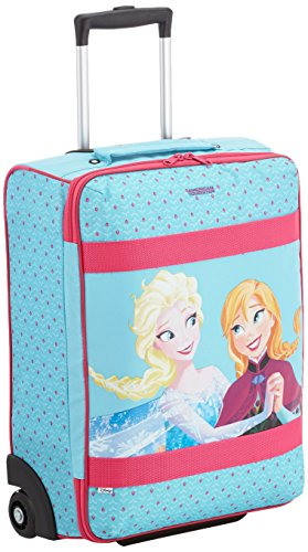 Disney New Wonder Upright 52/18 Frozen Equipaje Infantil, 32 Litros, Color Azul