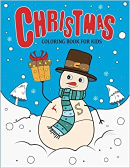 Christmas Coloring Book For Kids Large Christmas Coloring Pages