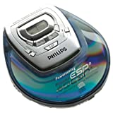 Philips AZ9101 Blue Personal CD Player