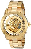 Invicta Men's 'Vintage' Automatic Stainless Steel Casual Watch, Color:Gold-Toned (Model: 22582)