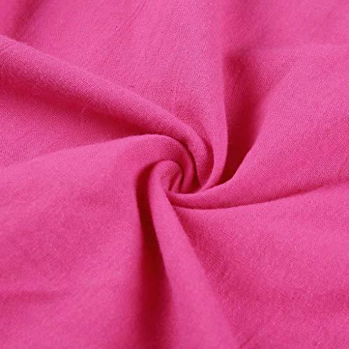 Baño Pollera Hotpink Faldas vestido Estilo Femenino Corto Vestido Mosstars Ocasional Casual Fiesta 2019 Mujer Mujeres Algodón Vestidos Verano De ad7Oqd4Uwn