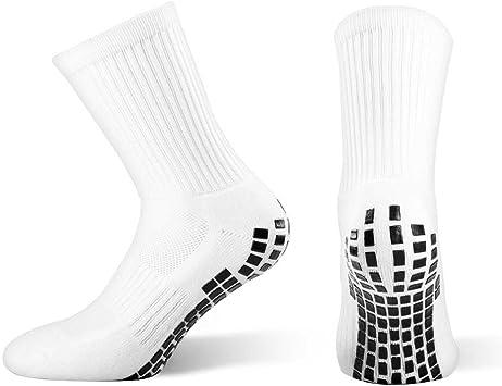Calcetines deportivos Snocks antideslizantes con agarre, negros ...