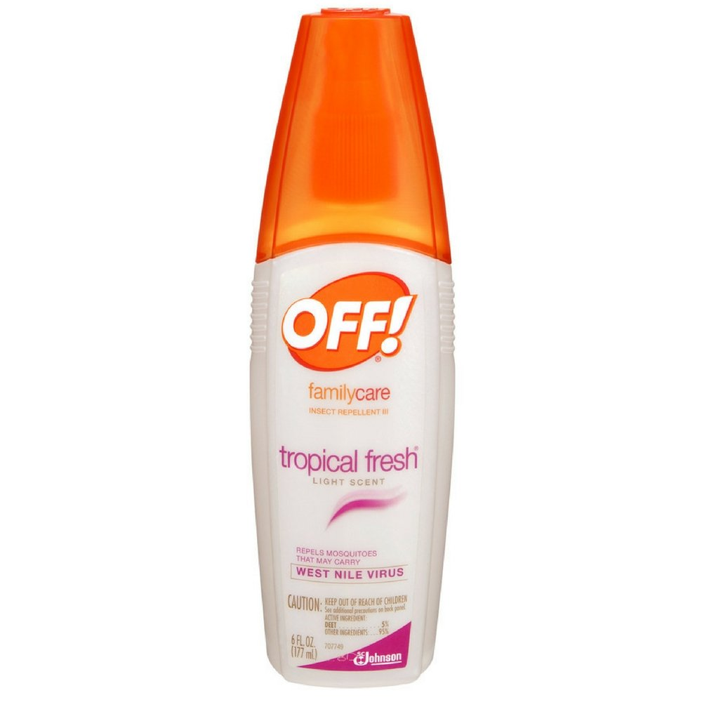 OFF!® FamilyCare Insect Repellent lll, Tropical Fresh, 6 fl oz (Pack of 24)