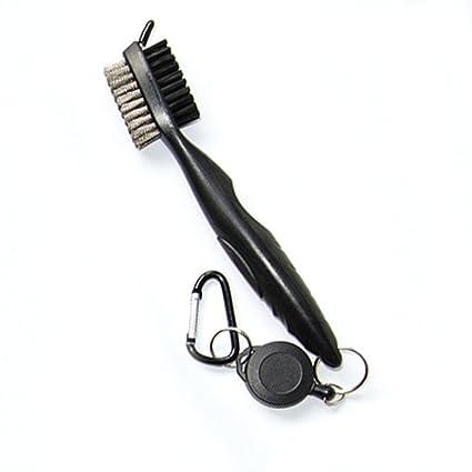 YUNQI - Cepillo y limpiador de ranura para palos de golf de ...