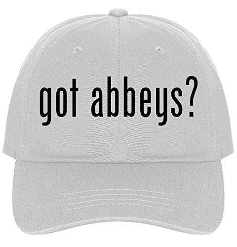 The Town Butler got Abbeys? - A Nice Comfortable Adjustable Dad Hat Cap, White]()