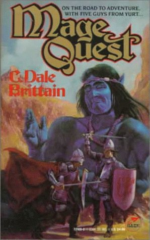 book cover of Mage Quest