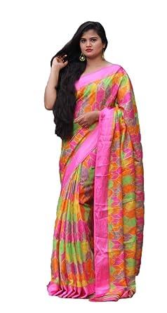 6968df1f19 Image Unavailable. Image not available for. Color: Indian Saree Kota Silk  Banarasi Art Silk Woven Saree Indian Wedding Traditional Wear Sari 11