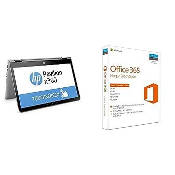 """HP Pavilion x360 14-ba029ns - Ordenador Portátil Convertible táctil de 14"""" FullHD ("""
