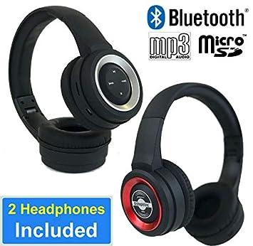 SHAREABLE Auriculares Bluetooth (2 juegos de auriculares ...