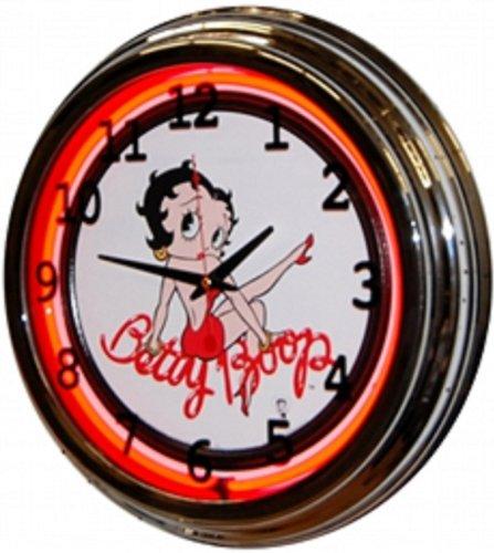 Betty Boop Neon Clock - BETTY BOOP NEON CLOCK
