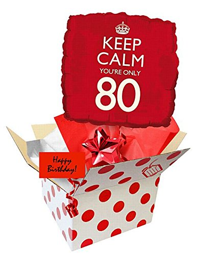 idealWigsNet Enviar un Globo - Mantén la Calma 80 cumpleaños ...
