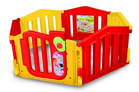 Lcp Kids Parque Bebé Corralito Infantil Plegable con Puerta set 6 ...