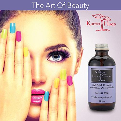 Amazon.com : Organic Lavender Nail Polish Remover 4 fl. oz : Beauty ...