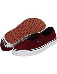 Vans Unisex Authentic Solid Canvas Skateboard Sneakers (40.5 M EU / 9.5 B(M) US Women / 8 D(M) US Men, PORT ROYALE...