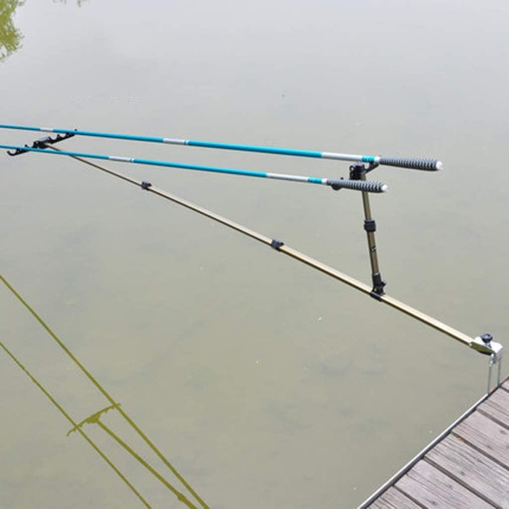 Linana - Soporte para caña de Pescar (aleación de Aluminio, 4 ...