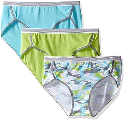 Hanes Women's Sport Comfort' X-Temp Hipster Panties with Comfort Flex Waistband size 7 - pack of 3