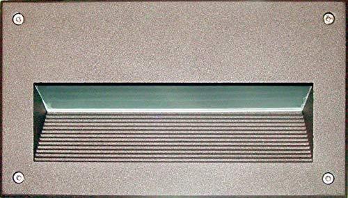 DABMAR LIGHTING DSL1003-LED5-BZ Step Light Recessed Lens 5 Watt PL-LED 85-264 Volts, Bronze