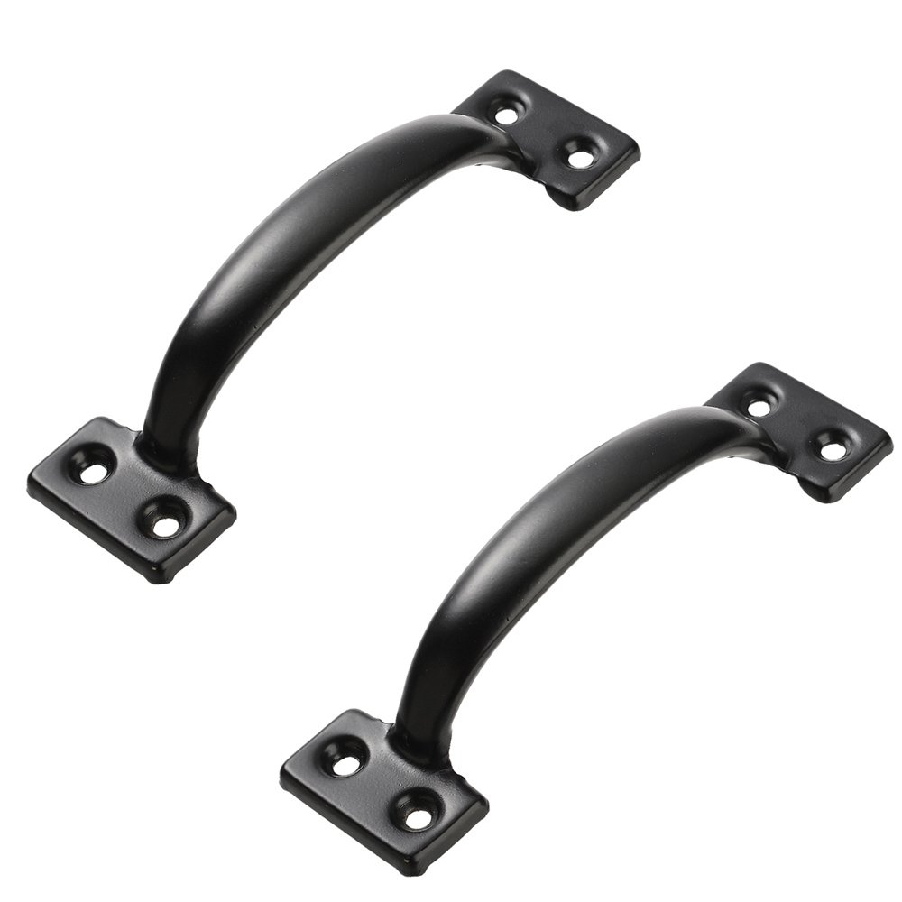 Lizavo V171 6 1 2 Pulls in Black 2 Pack