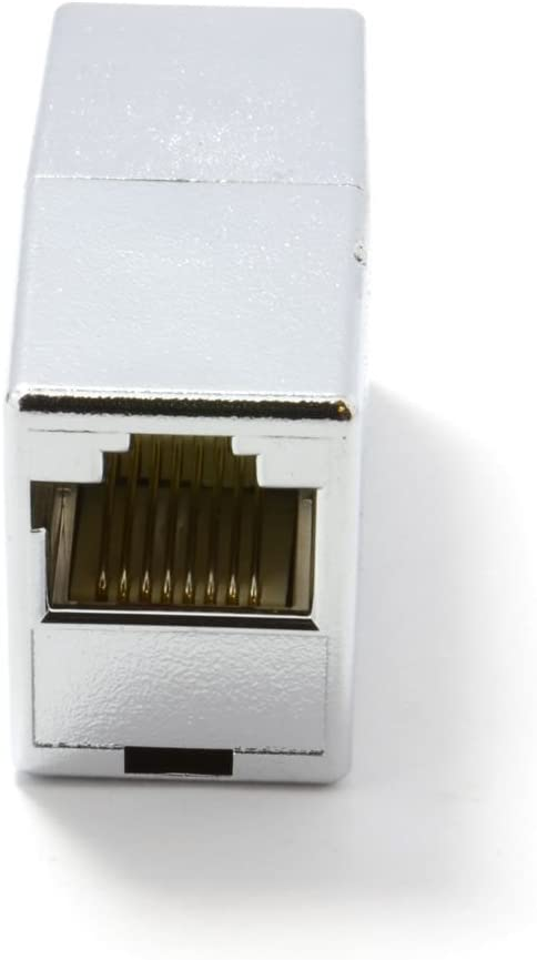 Shielded CAT5E RJ45 Inline Coupler Joiner for extending FTP//STP cables 007571