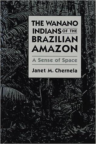 The Wanano Indians of the Brazilian Amazon: A Sense of Space