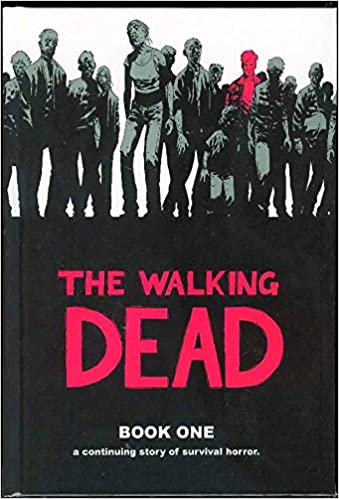 Image result for walking dead book 1 cover