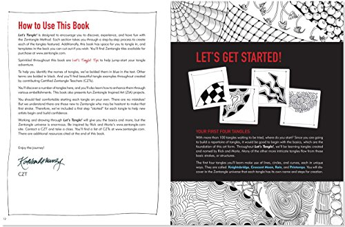 Let's Tangle! The Art of Zentangle