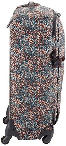 Kipling - 89 Liter - Rollkoffer - DARCEY L - Pixel Check Pr (Multicolore)