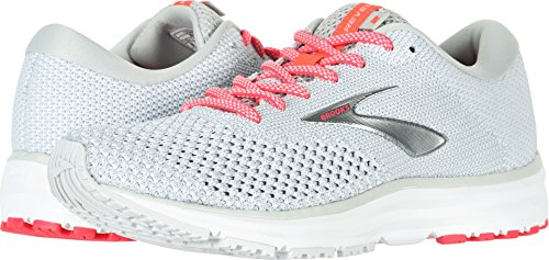 Brooks Women's Revel 2 Grey/White/Pink 8 B US