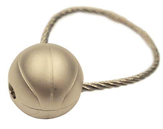 Amazon.com: Color de Plata Pull & Push de béisbol estilo ...