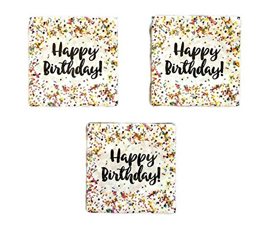 Creative Converting Sprinkles Birthday Napkins (48) Party Bundle by Party Creations (Image #2)