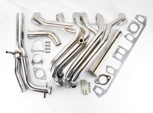 Performance Stainless Exhaust Manifold Header For Jeep Wrangler 87-90 4.2L I6 ()