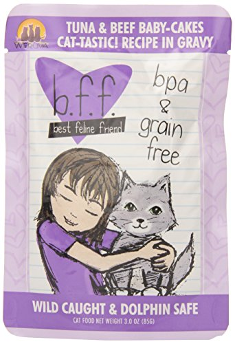 BFF Tuna & Beef Baby Cakes 3 oz. Pouch