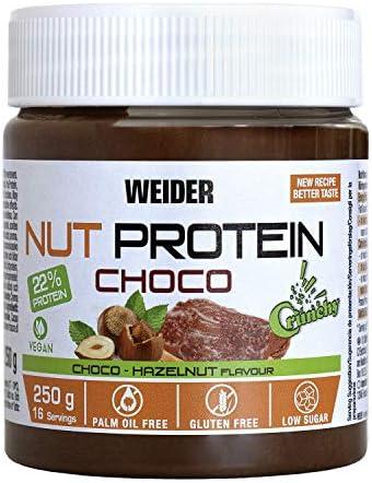 Weider Whey Protein Crunchy Choco Vegan Spread 250 g. 100% vegana ...