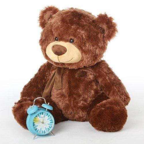 tiny-shags-27-cute-and-chubby-extra-huggable-giant-teddy-mocha-brown-plush-teddy-bear