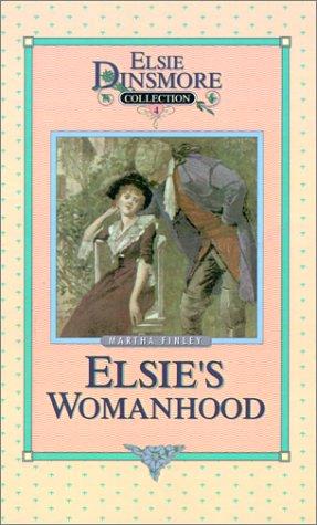 book cover of Elsie\'s Womanhood